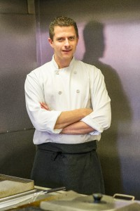 Chris Marshall Head Chef at The King William IV, Sedgeford