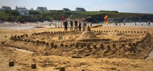 RNLI Sandcastle competition